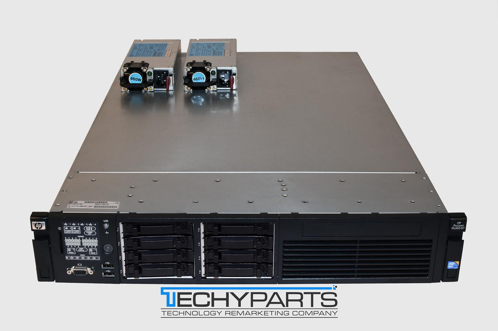hp proliant dl380 g7 2x 2 4ghz 8 cores 48gb ram 8 bay sff 2x psu ilo3 advanced 884962511886 ebay. Black Bedroom Furniture Sets. Home Design Ideas