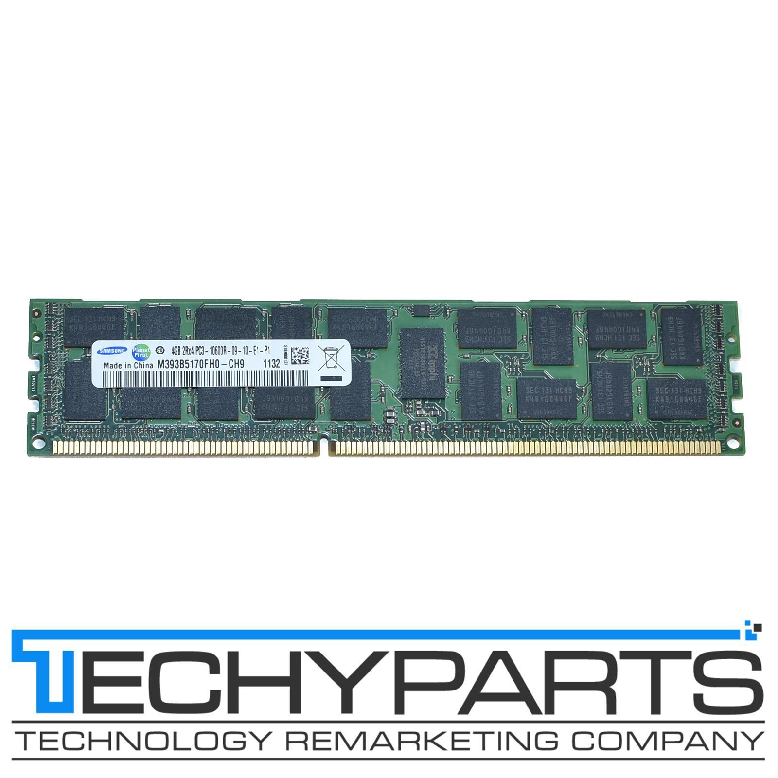SAMSUNG 4GB 8GB 16GB 2RX4 PC3-10600R DDR3 1333mhz ECC Reg Server Memory Ram Lot