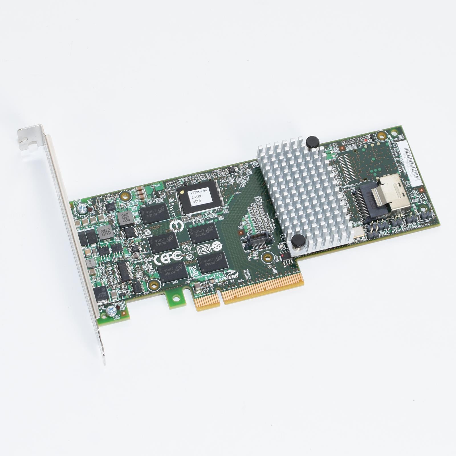 Details about LSI 3Ware 9750-4i 4-Port Internal SATA/SAS 6Gbps PCI-e 2 0  RAID Controller Card