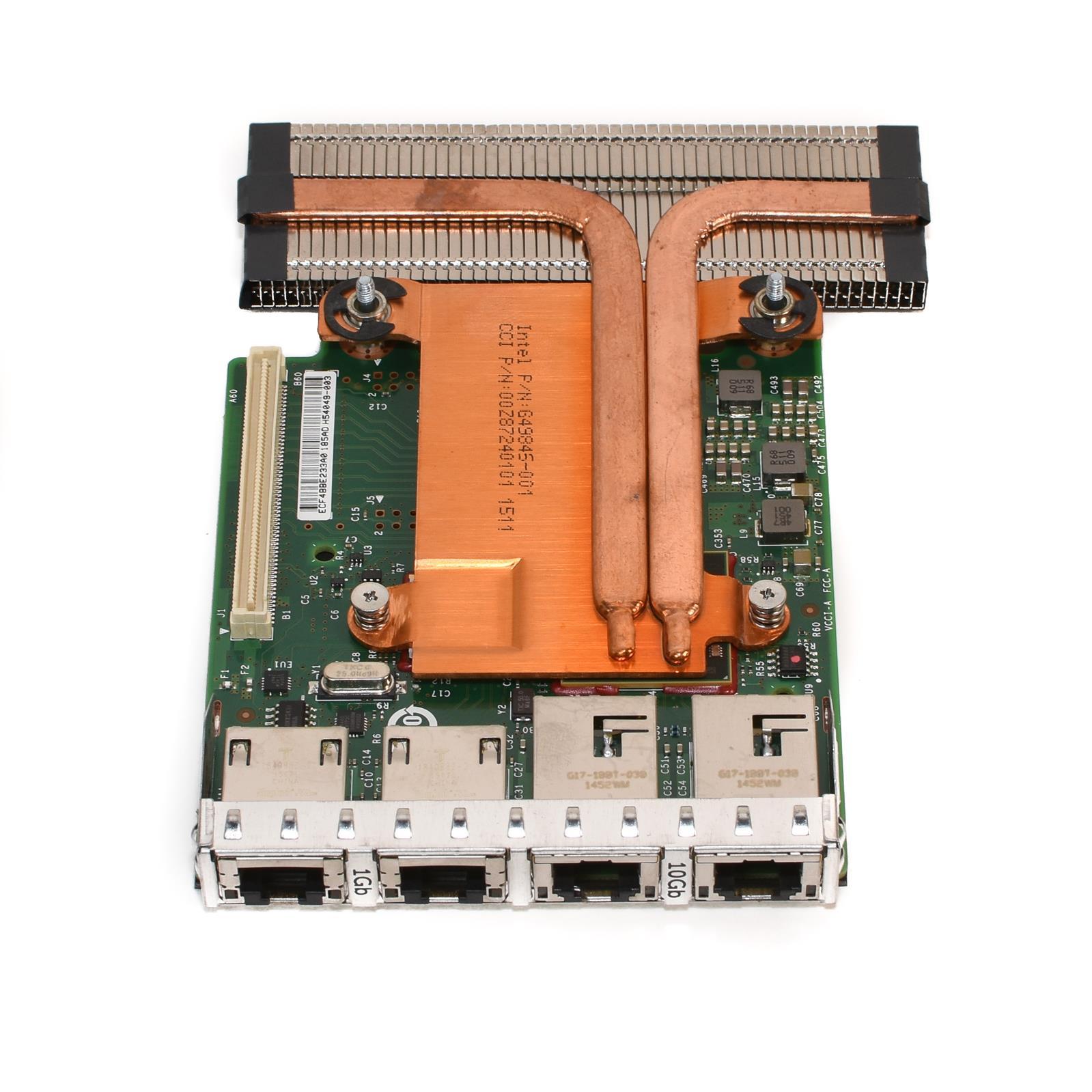 Details about Dell 99GTM INTEL 4-PORT X540 2X 10GB I350 2X 1GB NIC CARD  R620/R720/R630/R730