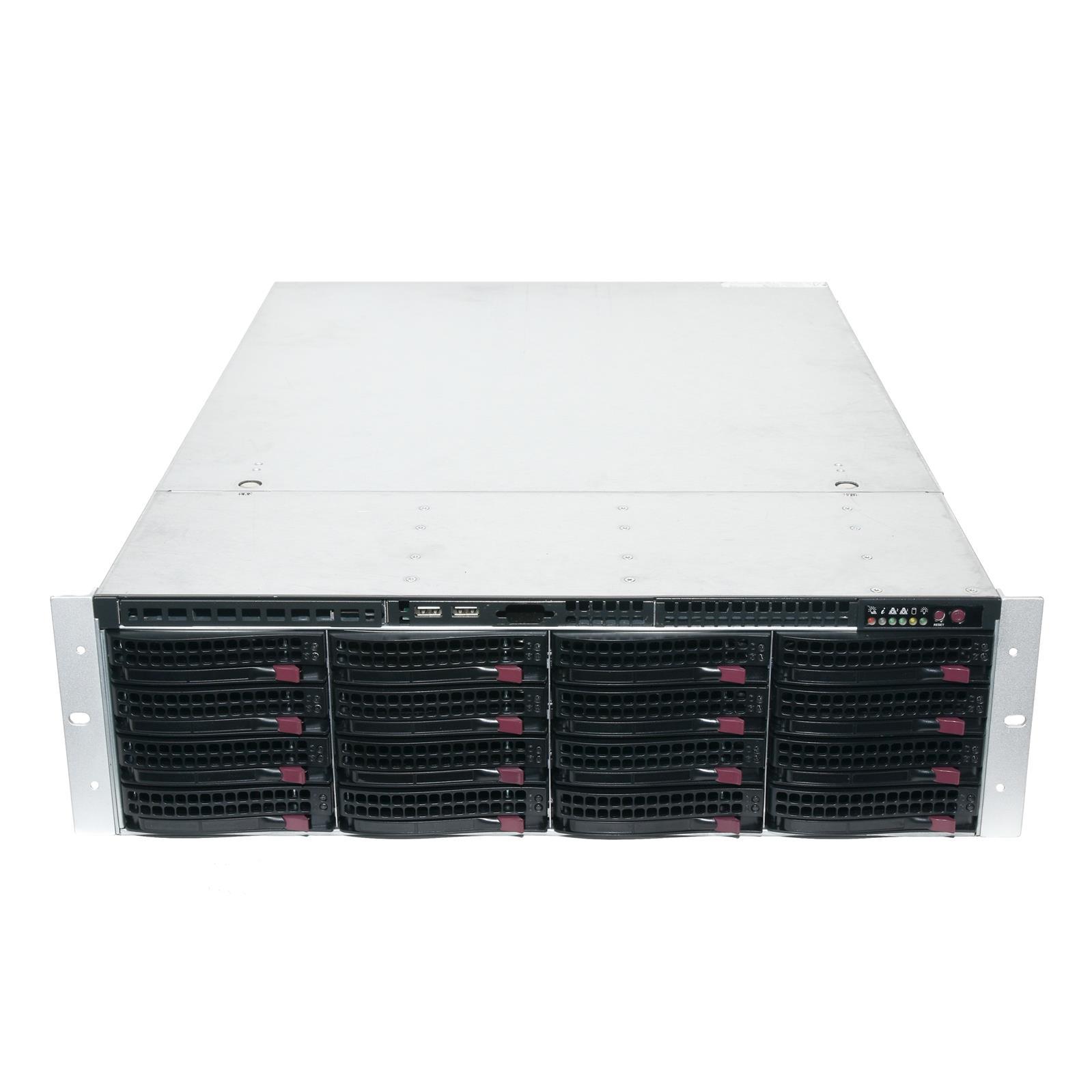 Supermicro 3U Barebone 3U Server Chassis 16x Trays BPN-SAS2-836EL1 W// Rails