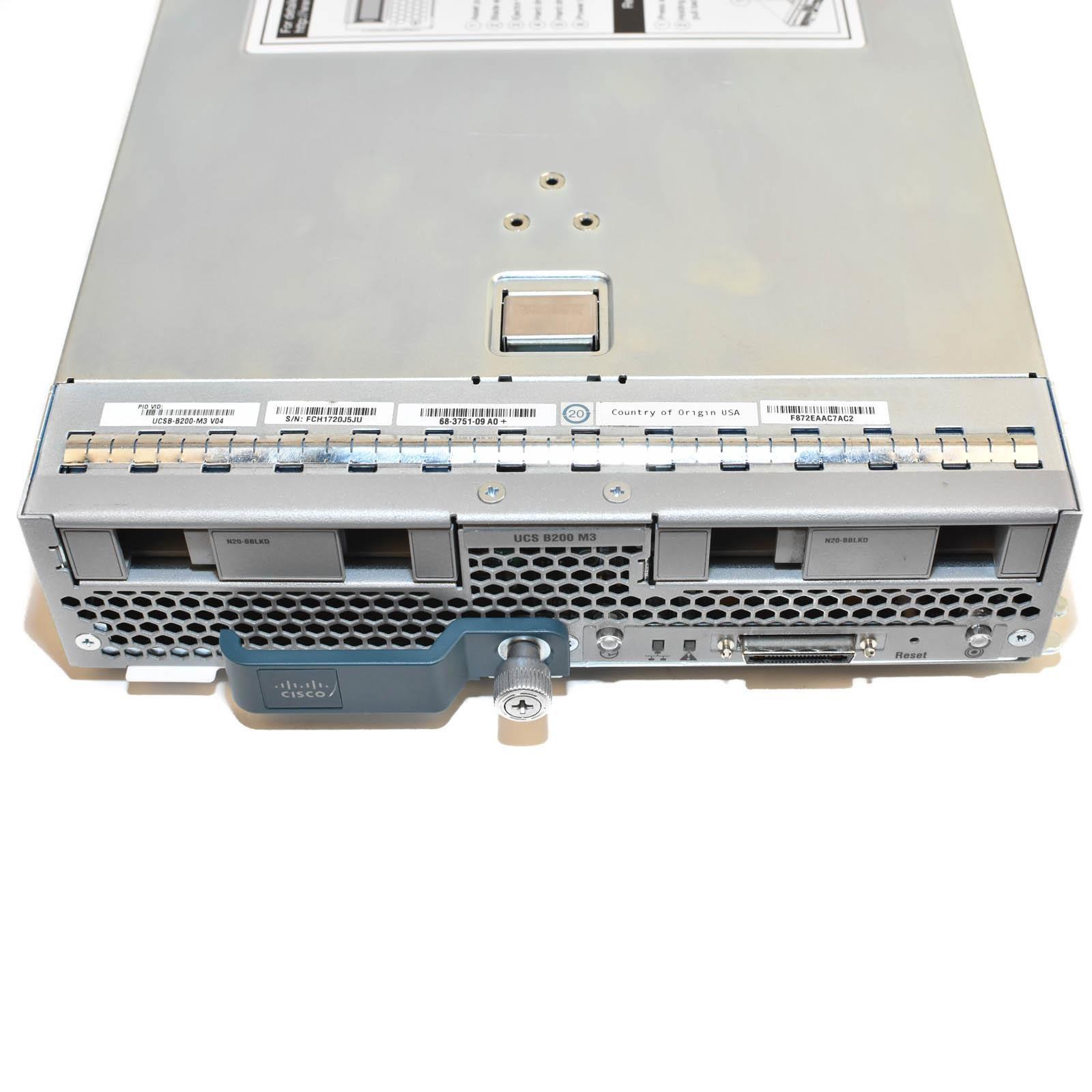 Cisco UCSB-B200-M3 Blade Server - Barebones (No CPU, RAM, or