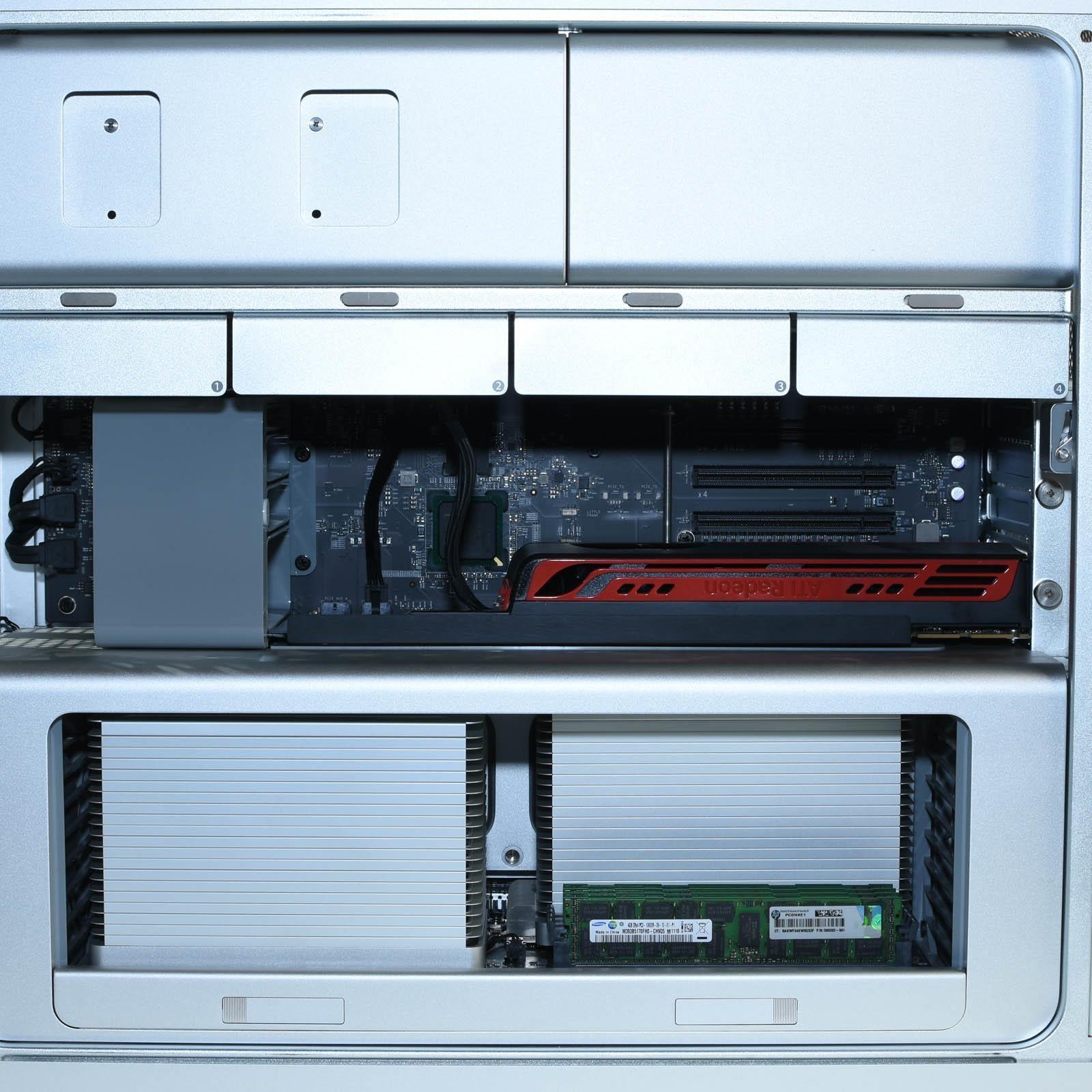 Apple Mac Pro 2010 5,1 A1289 12-Core 2 8Ghz 32GB 2TB Radeon HD 5770 1GB