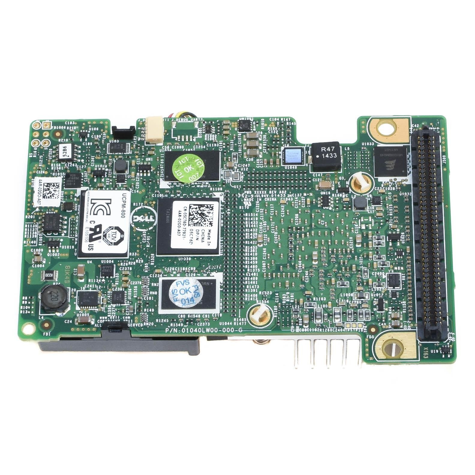 Dell PERC H710 5CT6D RAID Controller Mini Card With Battery w// 70K80
