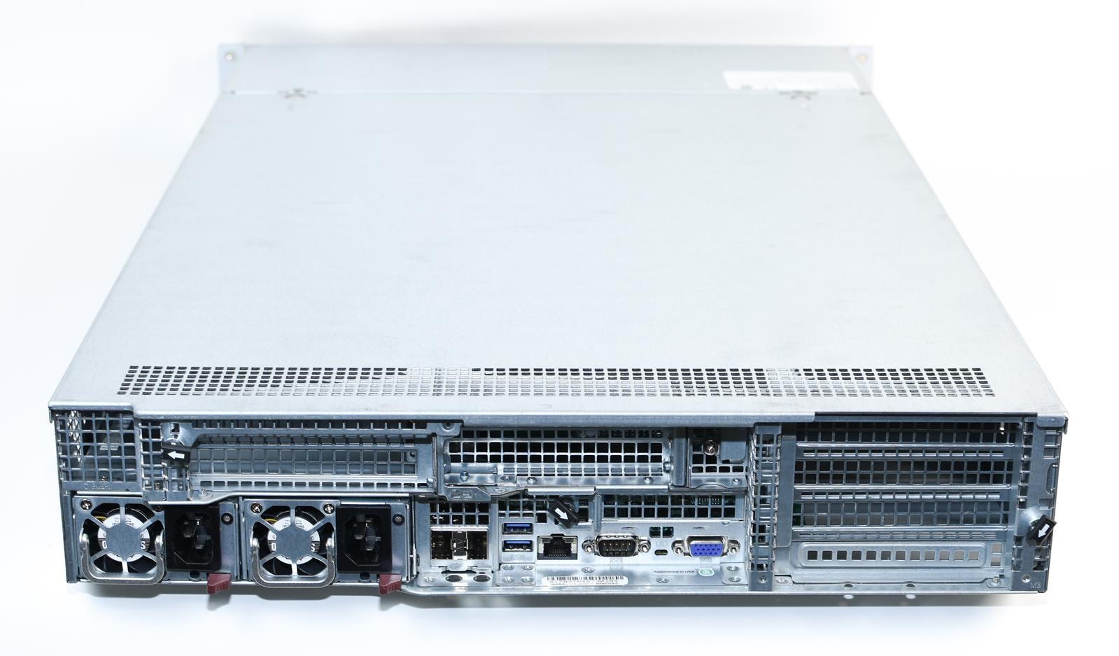SUPERMICRO SYS-6028U-TRTP+ X10DRU-i+ 2x LGA2011v3 E5-2600v3