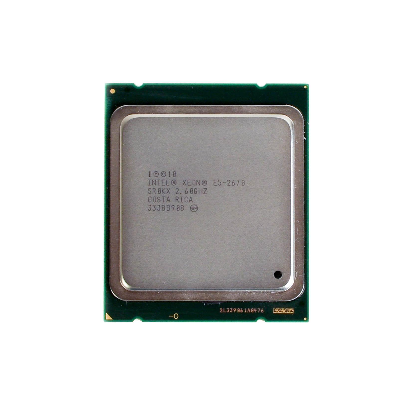 CM8062101082713 INTEL XEON E5-2670 8 CORE 2.60GHz 20M 8GT//s 115W PROCESSOR