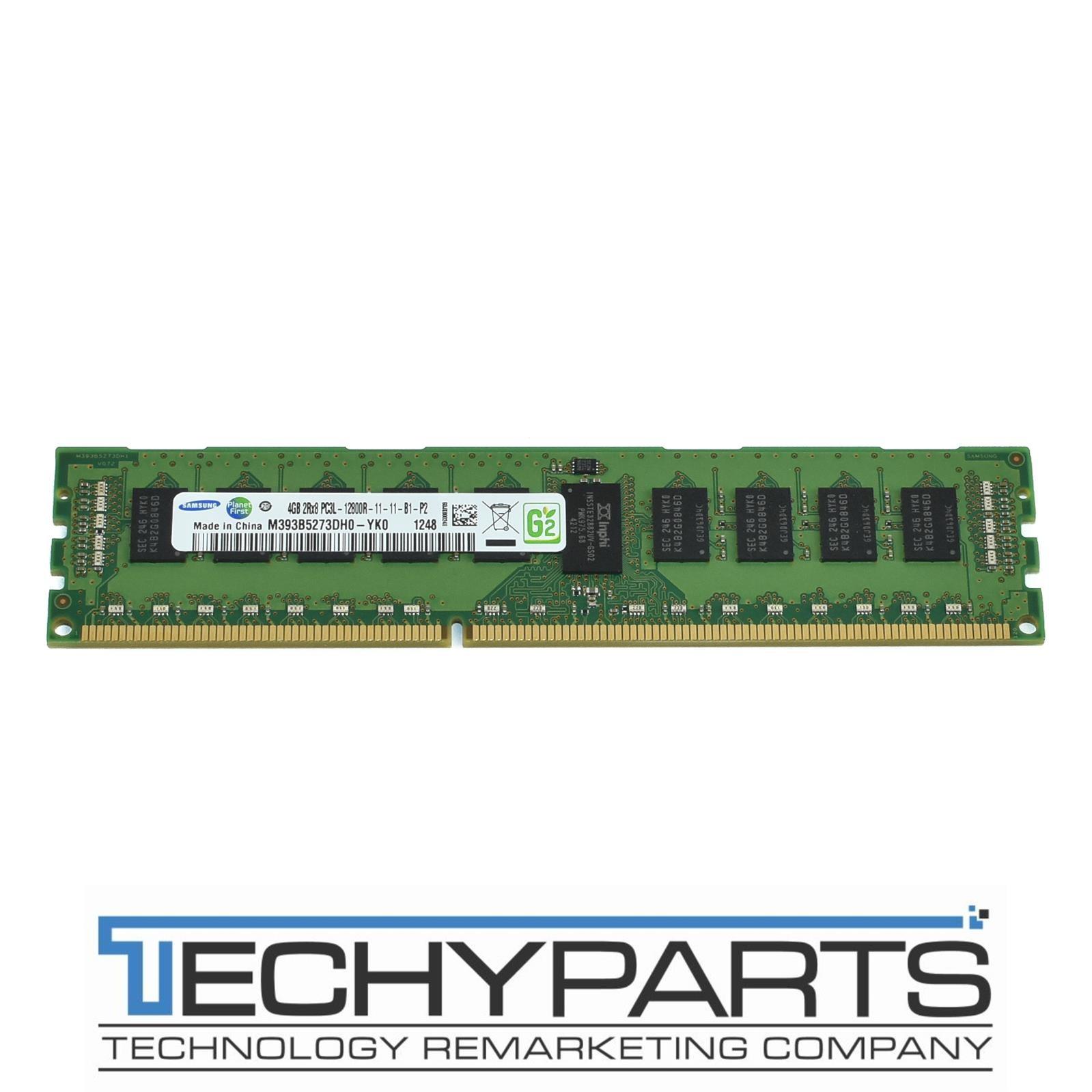 4gb 2Rx8 PC3-12800R ECC Server Memory