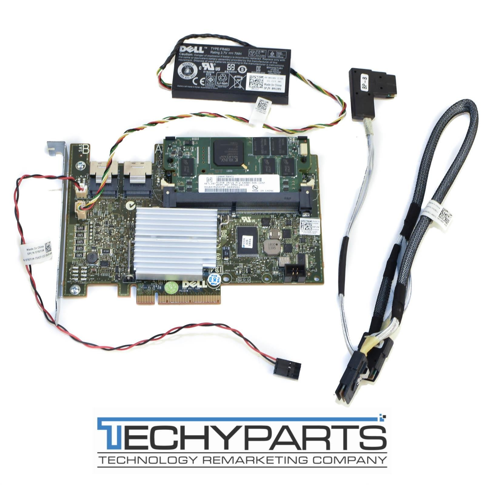 Dell PERC H700 SAS RAID Controller Kit w/Battery/Cables for