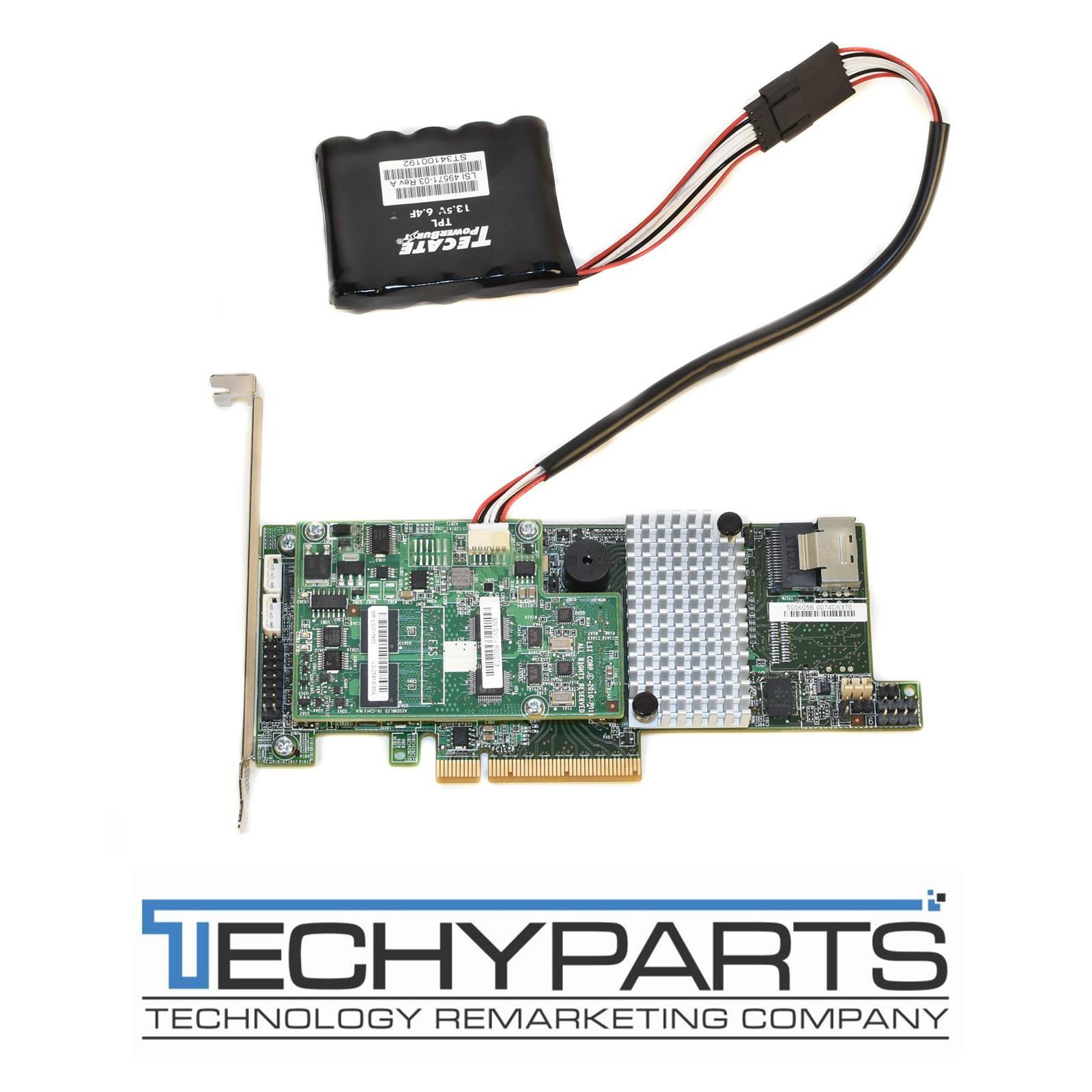 LSI Logic LSI9266-4I Megaraid Internal SAS 6Gbps RAID