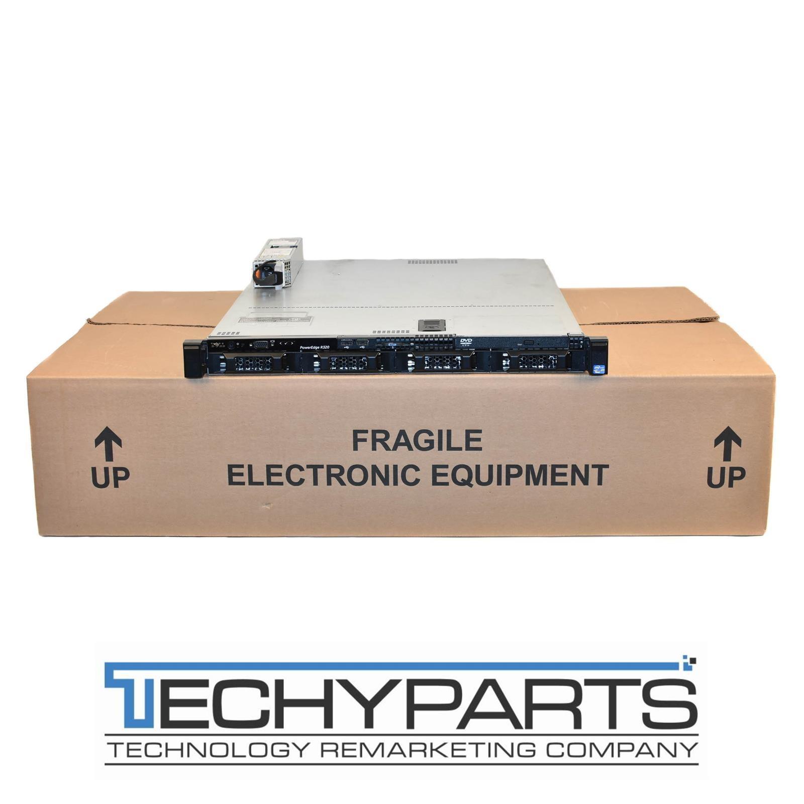 Dell PowerEdge R320 4-Bay LFF 1U Server w/ E5-2430 6-Core 2 2GHz
