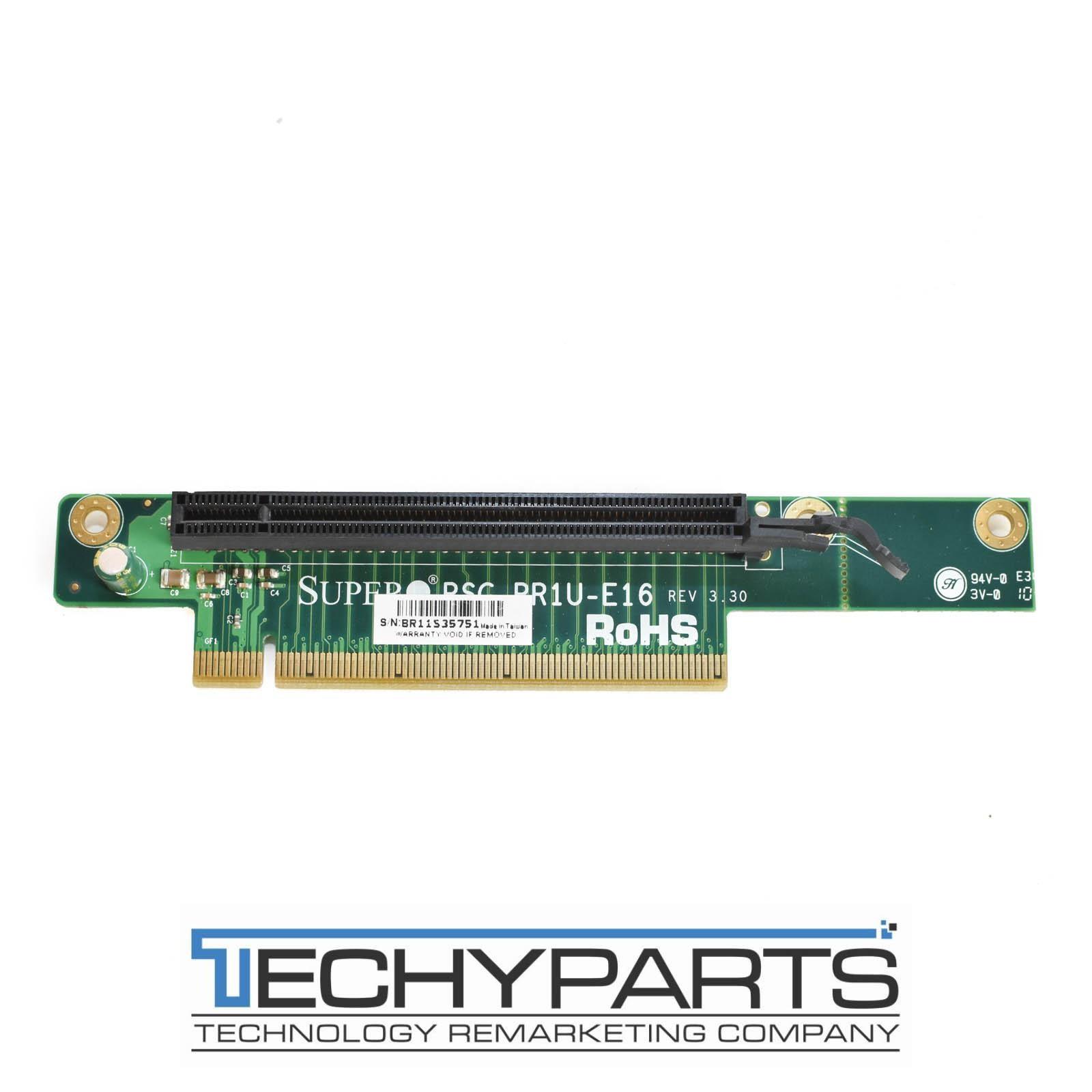 Supermicro Rsc Rr1u E16 1u Pci E X16 Riser Card 30