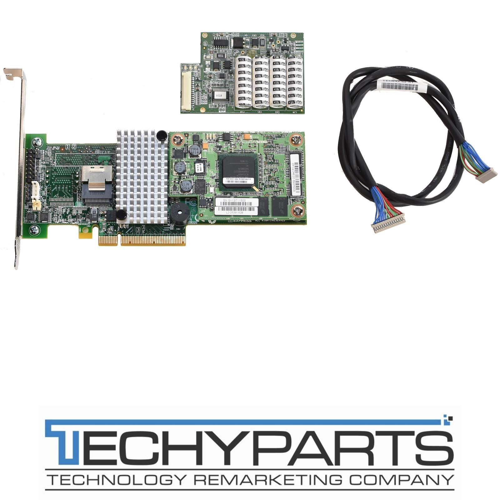 LSI SAS9260CV-4I MegaRAID SAS 6GB/S 512MB 4-Port PCIe RAID