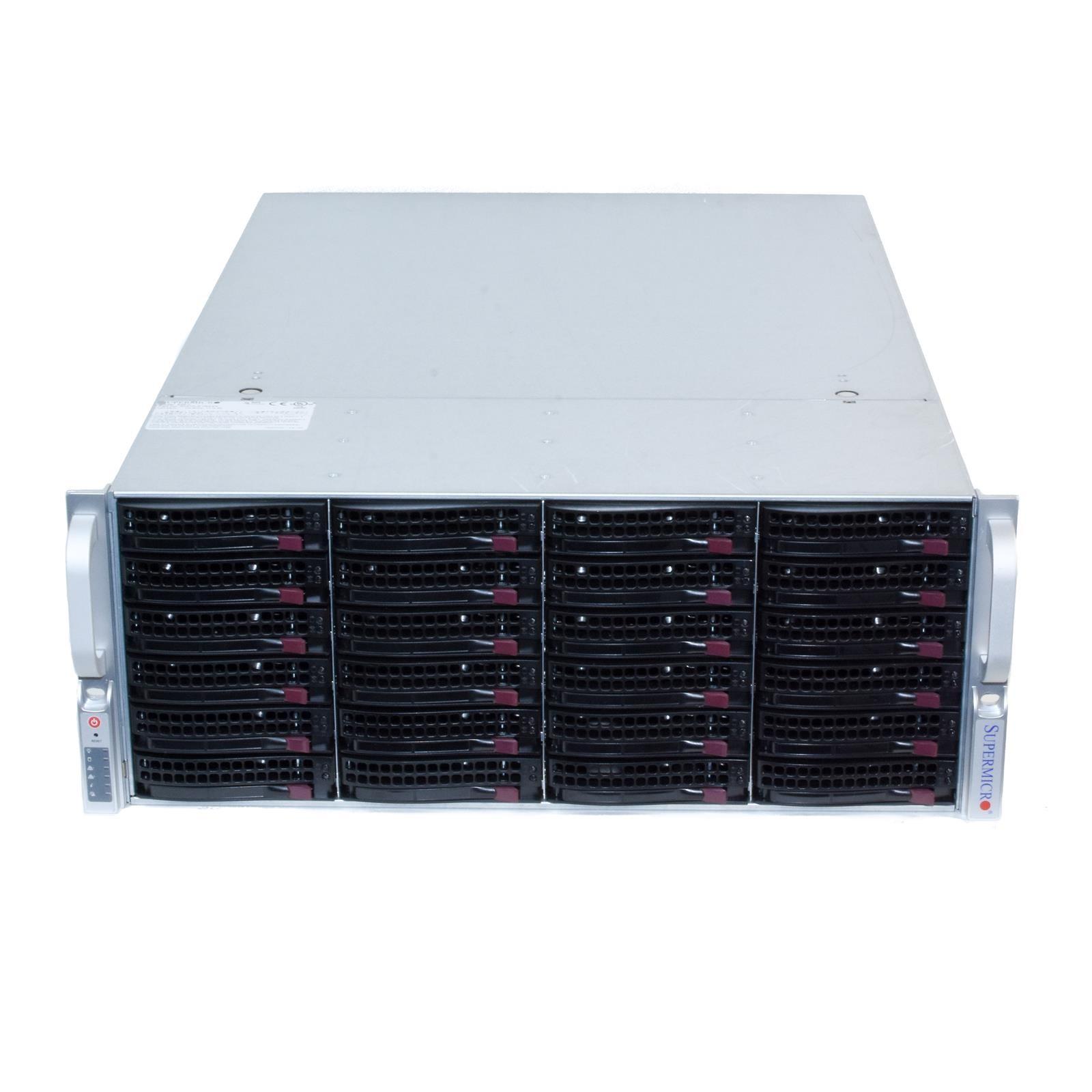 Supermicro CSE-846BE16-R920B 4U Server Chassis 2x 920W 24